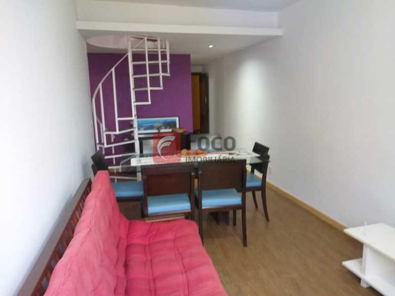 SALA - Cobertura à venda Rua Visconde de Silva,Botafogo, Rio de Janeiro - R$ 950.000 - JBCO20054 - 8