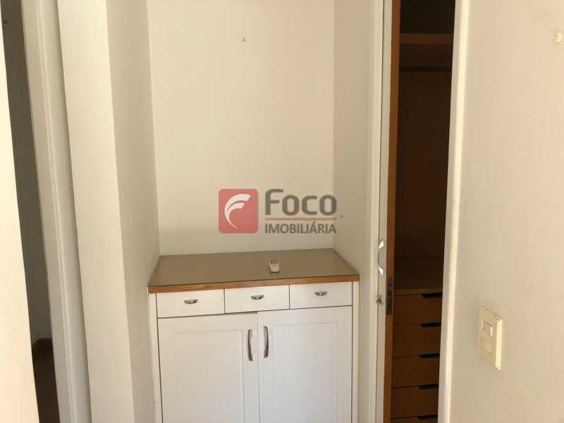 ACESSO AO CLOSET: - Apartamento à venda Travessa Madre Jacinta,Gávea, Rio de Janeiro - R$ 2.000.000 - JBAP31500 - 13