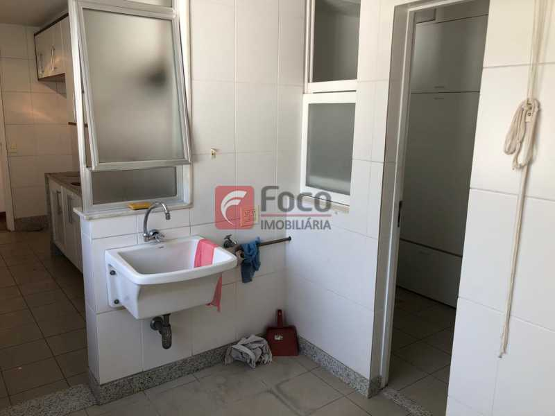 ÁREA DE SERVIÇO: - Apartamento à venda Travessa Madre Jacinta,Gávea, Rio de Janeiro - R$ 2.000.000 - JBAP31500 - 29