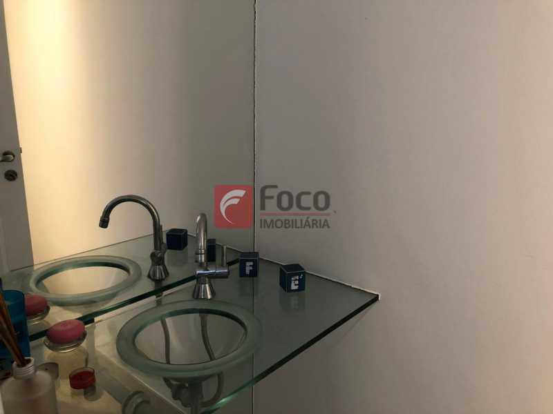 LAVABO: - Apartamento à venda Travessa Madre Jacinta,Gávea, Rio de Janeiro - R$ 2.000.000 - JBAP31500 - 8
