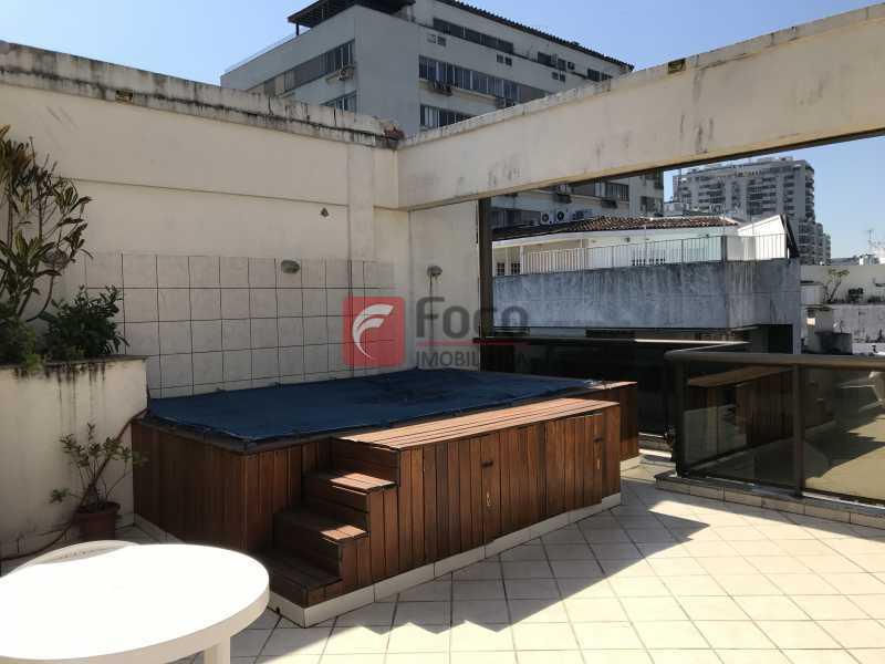 041 - Cobertura à venda Rua Professor Saldanha,Lagoa, Rio de Janeiro - R$ 1.500.000 - JBCO10012 - 1