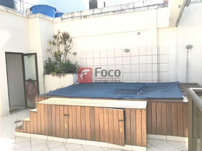 044 - Cobertura à venda Rua Professor Saldanha,Lagoa, Rio de Janeiro - R$ 1.500.000 - JBCO10012 - 5
