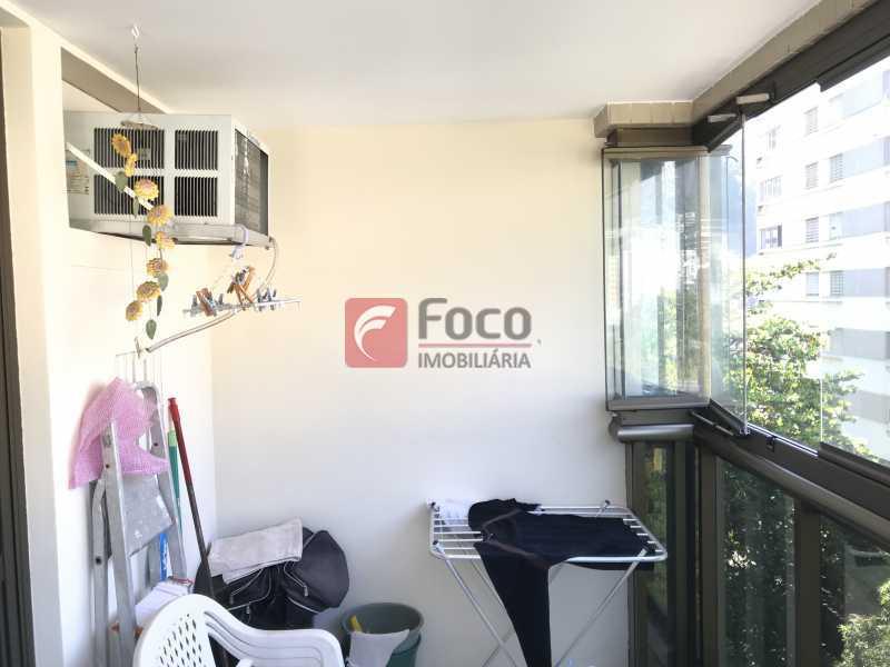 073 - Cobertura à venda Rua Professor Saldanha,Lagoa, Rio de Janeiro - R$ 1.500.000 - JBCO10012 - 16