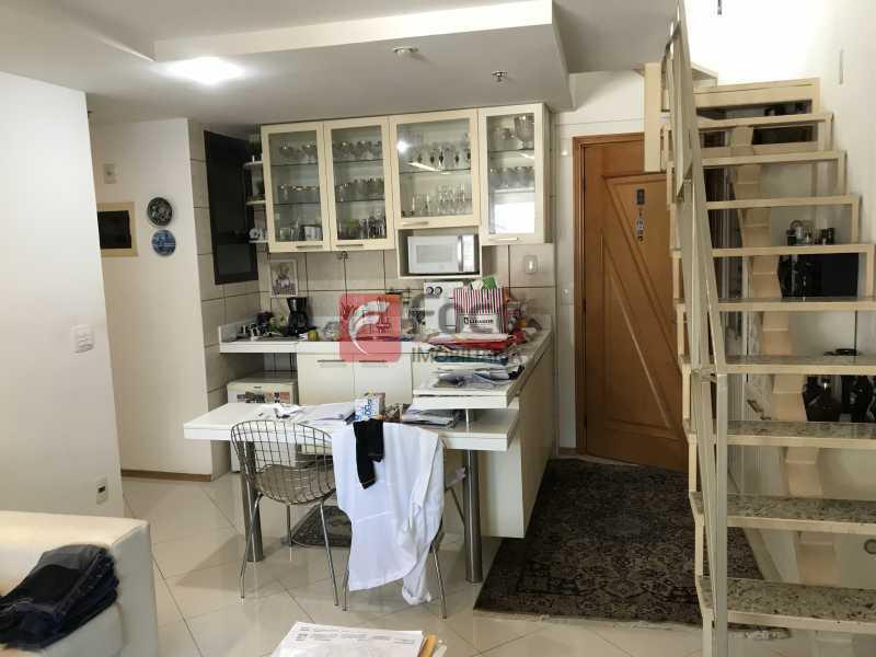 077 - Cobertura à venda Rua Professor Saldanha,Lagoa, Rio de Janeiro - R$ 1.500.000 - JBCO10012 - 11