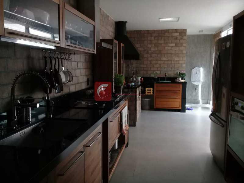 COZINHA - Casa de Vila à venda Rua Uruguai,Tijuca, Rio de Janeiro - R$ 1.060.000 - JBCV30007 - 21
