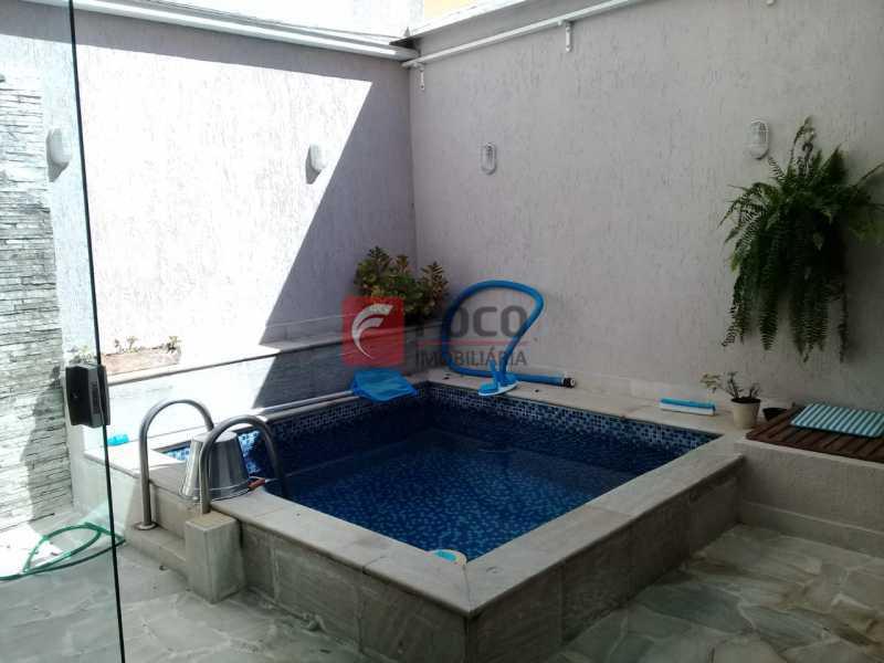 PISCINA - Casa de Vila à venda Rua Uruguai,Tijuca, Rio de Janeiro - R$ 1.060.000 - JBCV30007 - 3