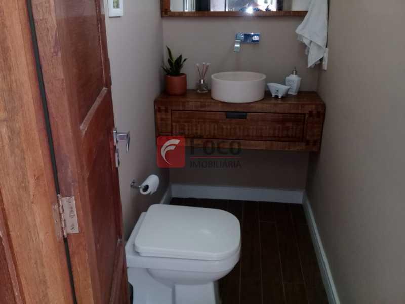 LAVABO - Casa de Vila à venda Rua Uruguai,Tijuca, Rio de Janeiro - R$ 1.060.000 - JBCV30007 - 11