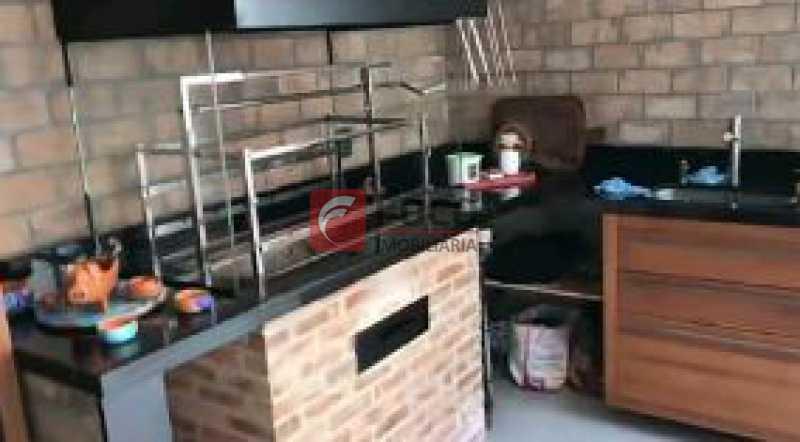 CHURRASQUEIRA - Casa de Vila à venda Rua Uruguai,Tijuca, Rio de Janeiro - R$ 1.060.000 - JBCV30007 - 16