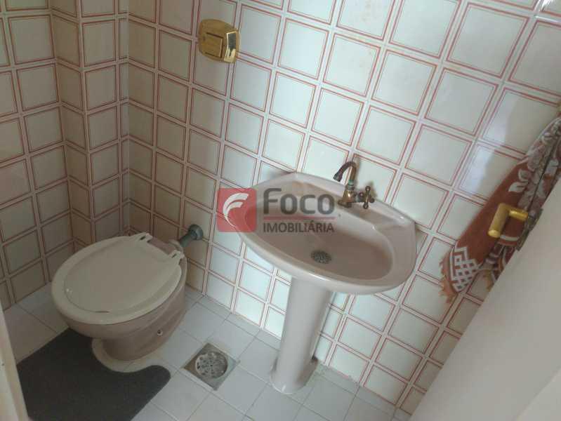 lavabo - Apartamento à venda Rua Cosme Velho,Cosme Velho, Rio de Janeiro - R$ 710.000 - JBAP21192 - 20