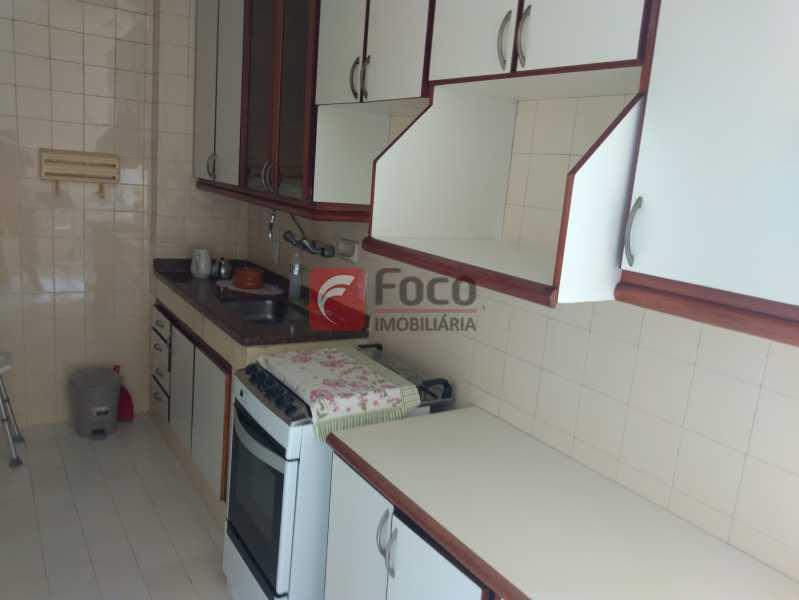 cozinha - Apartamento à venda Rua Cosme Velho,Cosme Velho, Rio de Janeiro - R$ 710.000 - JBAP21192 - 26