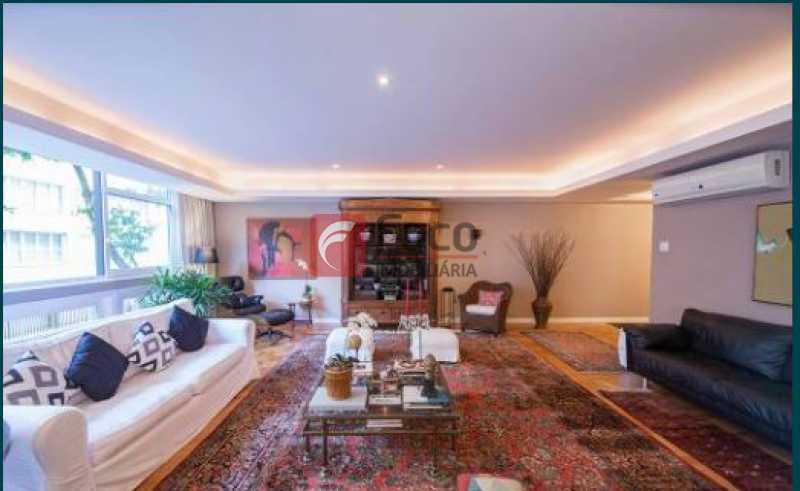 Sala 1 - Apartamento à venda Rua Joaquim Nabuco,Ipanema, Rio de Janeiro - R$ 4.500.000 - JBAP40409 - 5