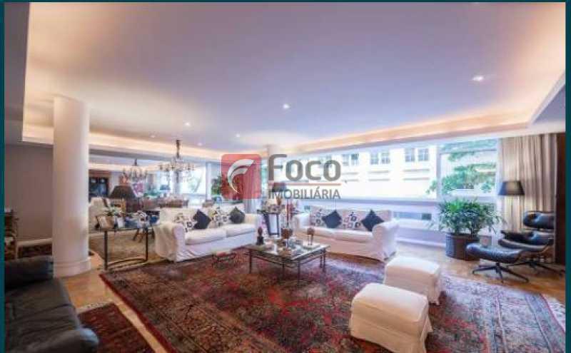 Sala - Apartamento à venda Rua Joaquim Nabuco,Ipanema, Rio de Janeiro - R$ 4.500.000 - JBAP40409 - 1
