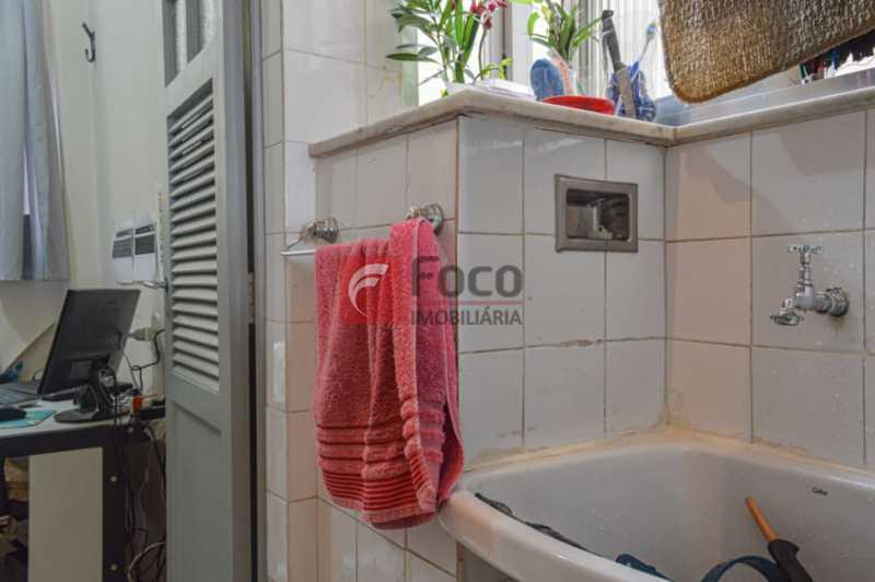 AREA DE SERVIÇO - Apartamento à venda Rua Artur Bernardes,Catete, Rio de Janeiro - R$ 560.000 - JBAP10373 - 28
