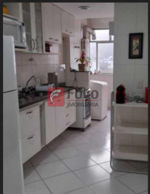 Cozinha - Apartamento à venda Rua Sacopa,Lagoa, Rio de Janeiro - R$ 1.160.000 - JBAP21209 - 9