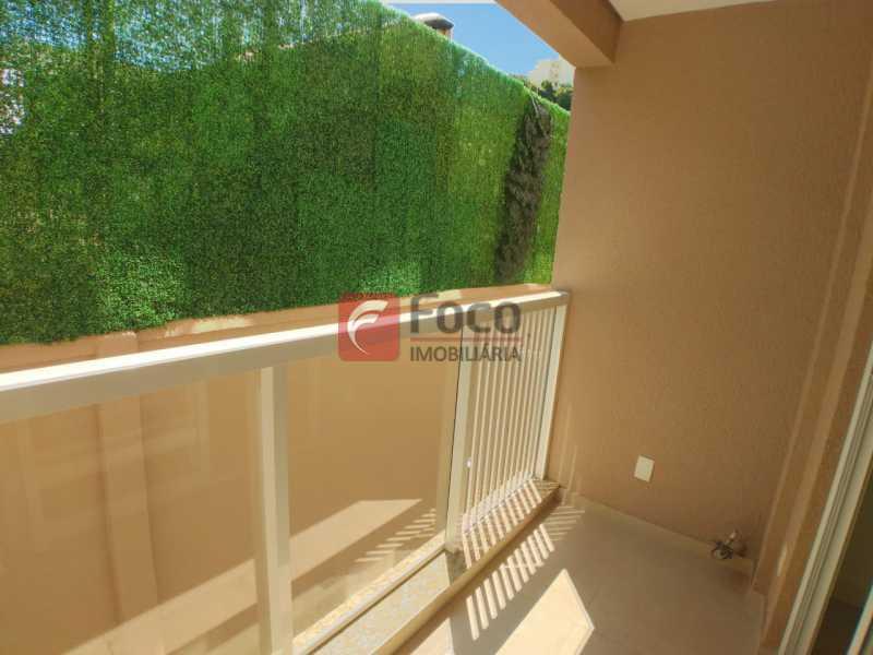 varanda - Apartamento à venda Rua do Catete,Glória, Rio de Janeiro - R$ 890.000 - JBAP21211 - 1
