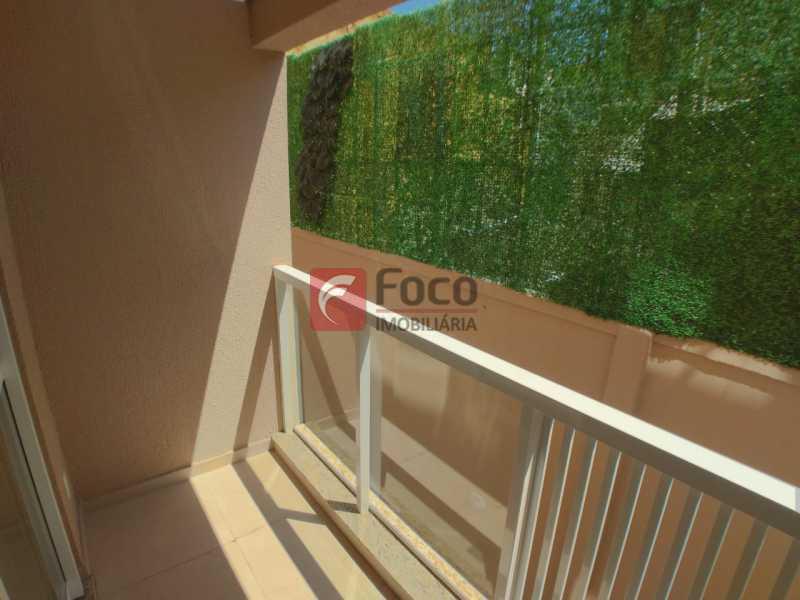 varanda - Apartamento à venda Rua do Catete,Glória, Rio de Janeiro - R$ 890.000 - JBAP21211 - 3
