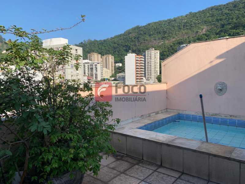 PISCINA TERRAÇO - Cobertura à venda Rua das Laranjeiras,Laranjeiras, Rio de Janeiro - R$ 1.600.000 - JBCO30193 - 1