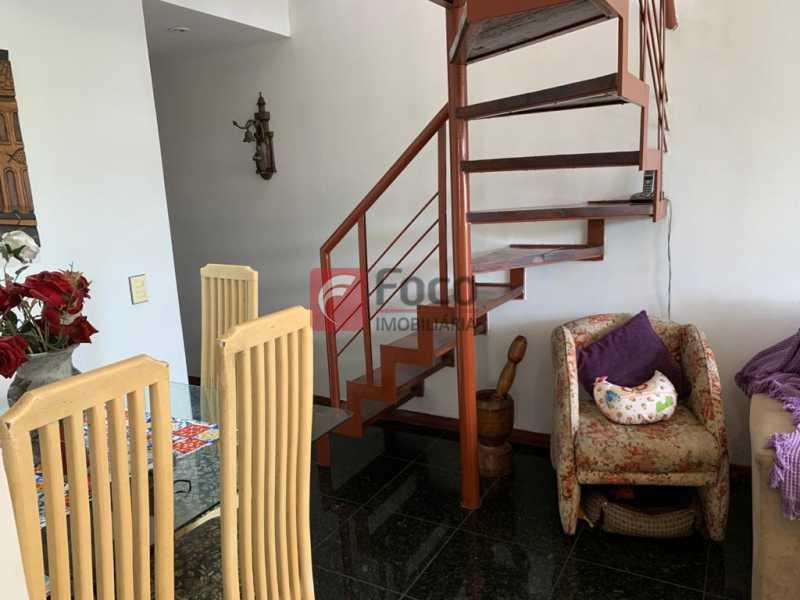 SALA - Cobertura à venda Rua das Laranjeiras,Laranjeiras, Rio de Janeiro - R$ 1.600.000 - JBCO30193 - 5