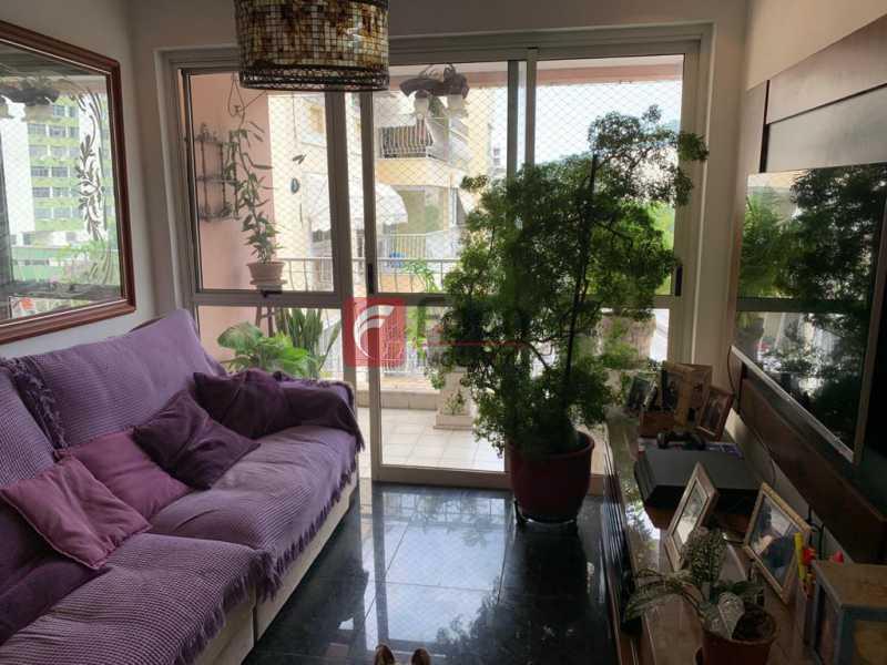 SALA - Cobertura à venda Rua das Laranjeiras,Laranjeiras, Rio de Janeiro - R$ 1.600.000 - JBCO30193 - 4