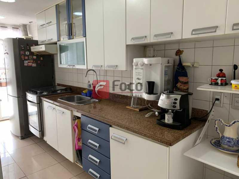 COZINHA - Cobertura à venda Rua das Laranjeiras,Laranjeiras, Rio de Janeiro - R$ 1.600.000 - JBCO30193 - 17