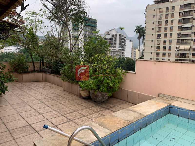 TERRAÇO - Cobertura à venda Rua das Laranjeiras,Laranjeiras, Rio de Janeiro - R$ 1.600.000 - JBCO30193 - 24