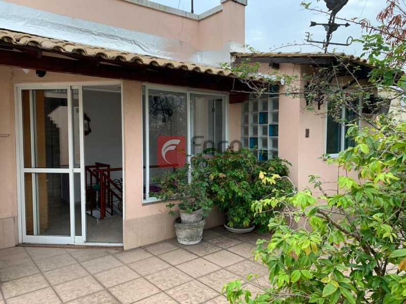 TERRAÇO - Cobertura à venda Rua das Laranjeiras,Laranjeiras, Rio de Janeiro - R$ 1.600.000 - JBCO30193 - 23