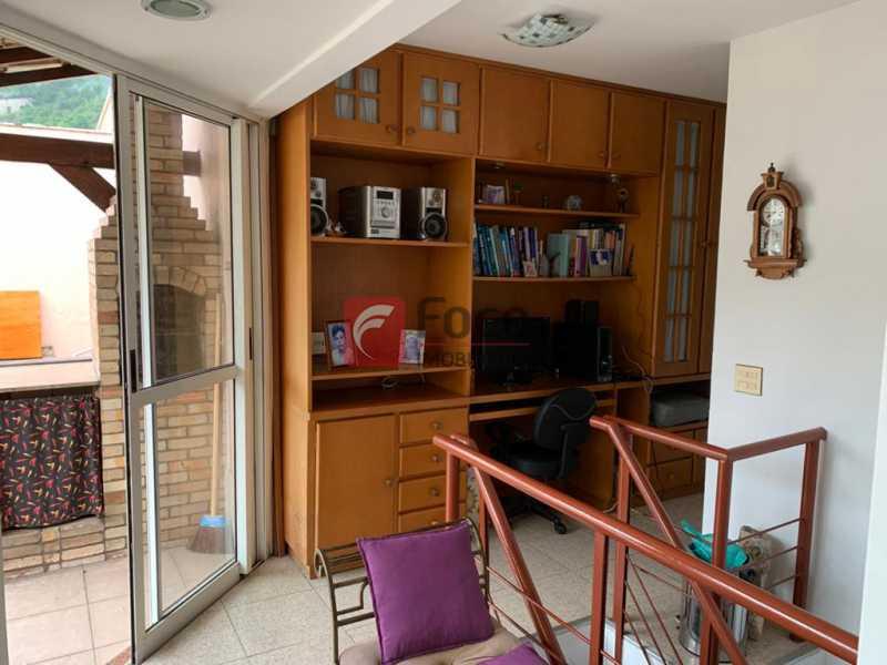 ESCRITÓRIO - Cobertura à venda Rua das Laranjeiras,Laranjeiras, Rio de Janeiro - R$ 1.600.000 - JBCO30193 - 21