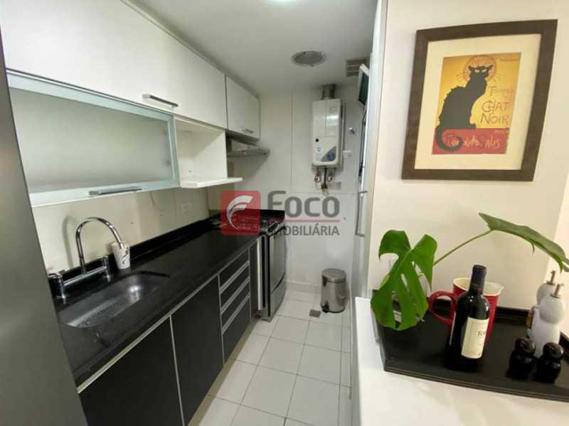 5 - Flat à venda Rua Professor Saldanha,Lagoa, Rio de Janeiro - R$ 890.000 - JBFL10040 - 6