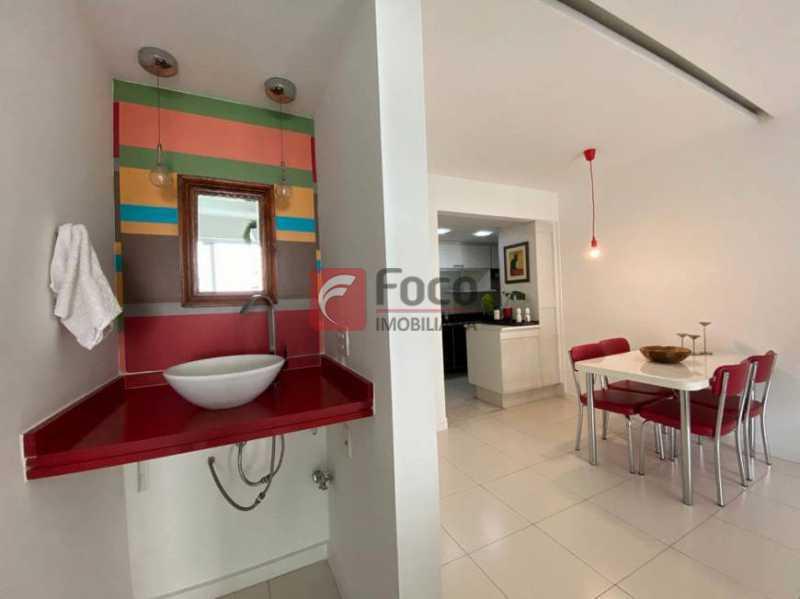 7 - Flat à venda Rua Professor Saldanha,Lagoa, Rio de Janeiro - R$ 890.000 - JBFL10040 - 8
