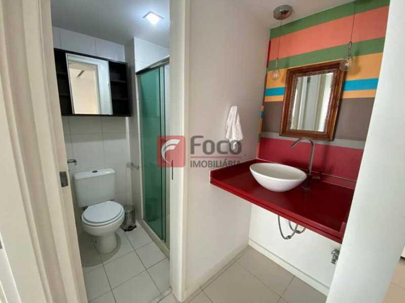 8 - Flat à venda Rua Professor Saldanha,Lagoa, Rio de Janeiro - R$ 890.000 - JBFL10040 - 9
