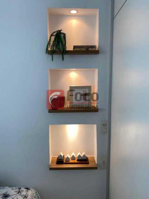 11 - Flat à venda Rua Professor Saldanha,Lagoa, Rio de Janeiro - R$ 890.000 - JBFL10040 - 12