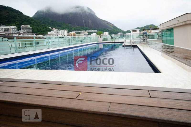 13 - Flat à venda Rua Professor Saldanha,Lagoa, Rio de Janeiro - R$ 890.000 - JBFL10040 - 14