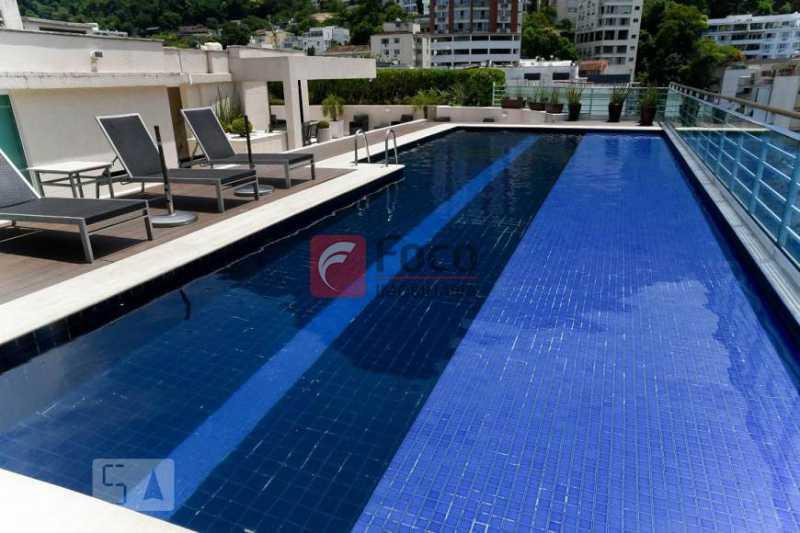 16 - Flat à venda Rua Professor Saldanha,Lagoa, Rio de Janeiro - R$ 890.000 - JBFL10040 - 17