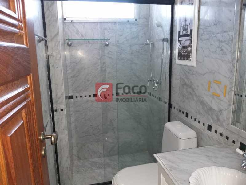 BANHEIRO SOCIAL - Cobertura à venda Rua Marquesa de Santos,Laranjeiras, Rio de Janeiro - R$ 1.890.000 - JBCO30195 - 8