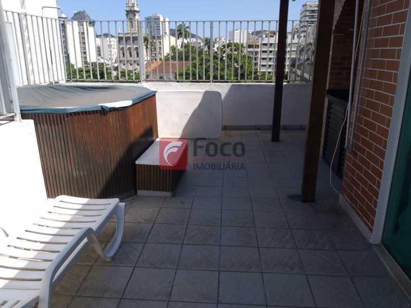TERRAÇO - Cobertura à venda Rua Marquesa de Santos,Laranjeiras, Rio de Janeiro - R$ 1.890.000 - JBCO30195 - 21