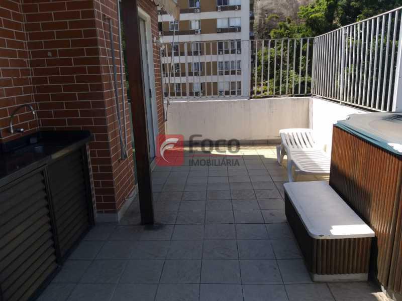 TERRAÇO - Cobertura à venda Rua Marquesa de Santos,Laranjeiras, Rio de Janeiro - R$ 1.890.000 - JBCO30195 - 22