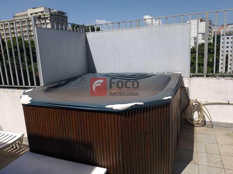 DECK COM HIDROMASSAGEM - Cobertura à venda Rua Marquesa de Santos,Laranjeiras, Rio de Janeiro - R$ 1.890.000 - JBCO30195 - 24