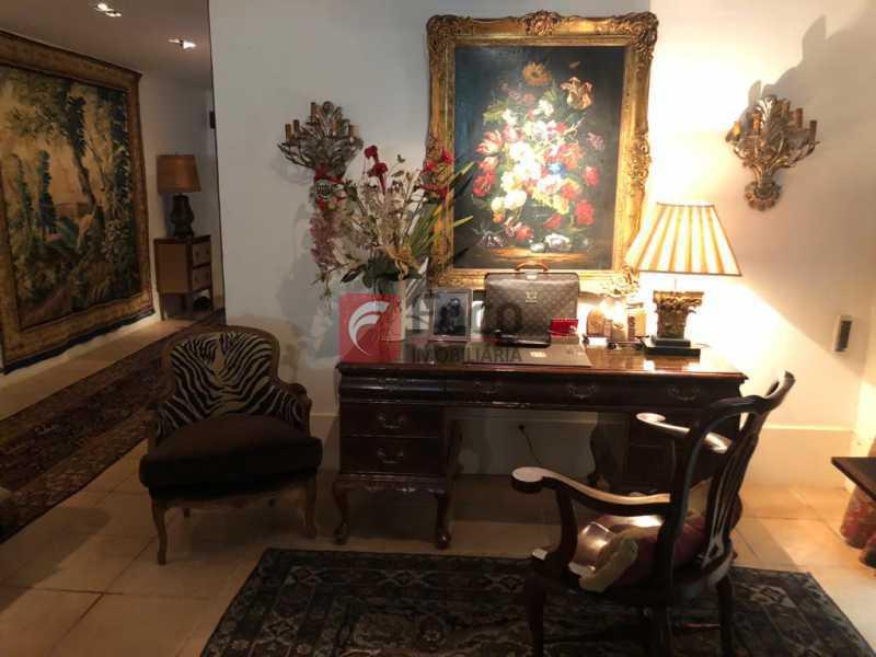 1. - Casa 4 quartos à venda Jardim Botânico, Rio de Janeiro - R$ 5.500.000 - JBCA40065 - 1
