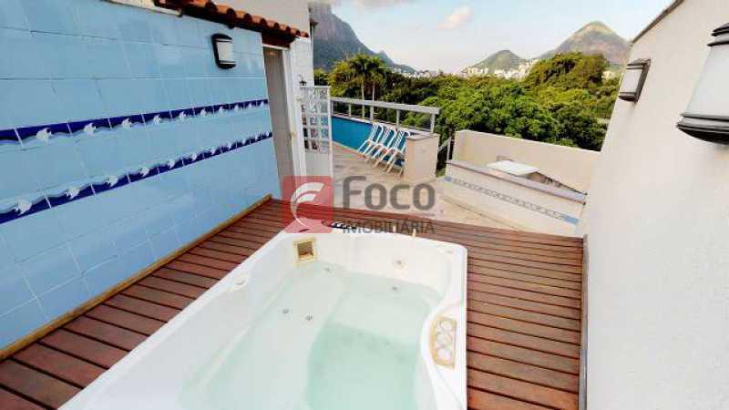 21 - Cobertura à venda Avenida Rodrigo Otavio,Gávea, Rio de Janeiro - R$ 2.780.000 - JBCO30197 - 23