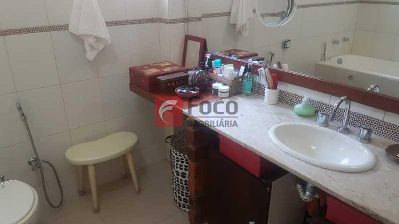 BANHEIRO SOCIAL 1 2° PISO - Casa 4 quartos à venda Laranjeiras, Rio de Janeiro - R$ 1.900.000 - JBCA40066 - 20