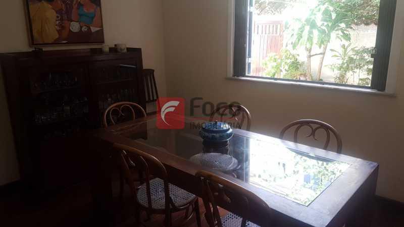 SALA DE JANTAR - Casa 4 quartos à venda Laranjeiras, Rio de Janeiro - R$ 1.900.000 - JBCA40066 - 9