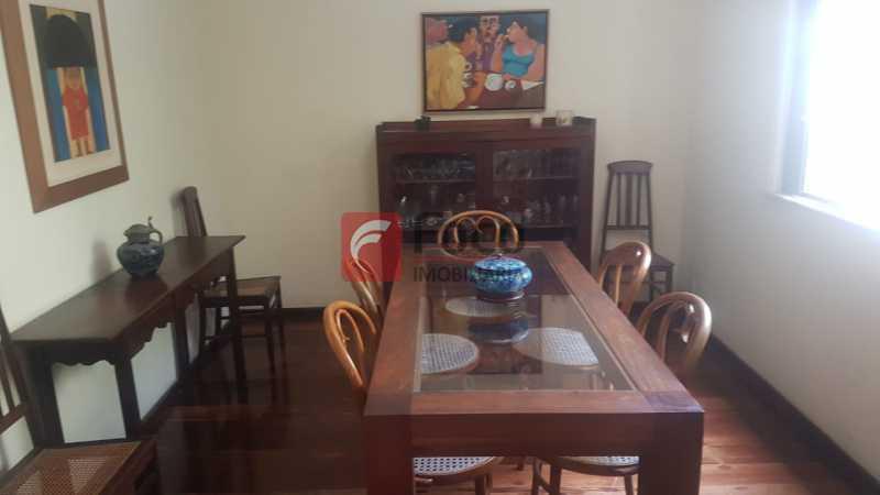 SALA DE JANTAR - Casa 4 quartos à venda Laranjeiras, Rio de Janeiro - R$ 1.900.000 - JBCA40066 - 8