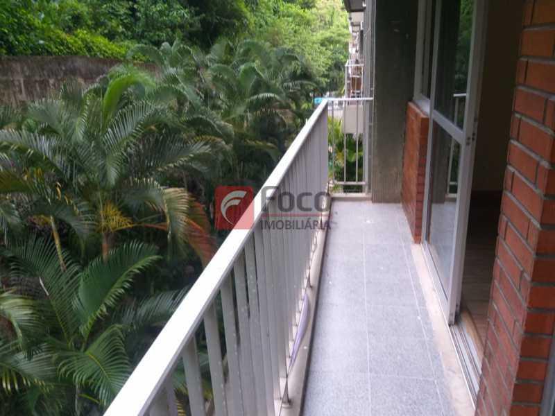 VARANDA - Apartamento à venda Avenida Epitácio Pessoa,Lagoa, Rio de Janeiro - R$ 1.600.000 - JBAP21259 - 3