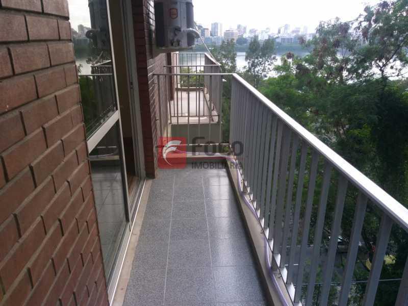 VARANDA SUÍTE - Apartamento à venda Avenida Epitácio Pessoa,Lagoa, Rio de Janeiro - R$ 1.600.000 - JBAP21259 - 6