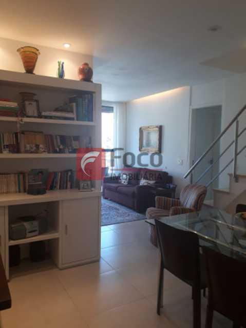 2 - Cobertura à venda Rua Marquês de São Vicente,Gávea, Rio de Janeiro - R$ 2.300.000 - JBCO30202 - 3