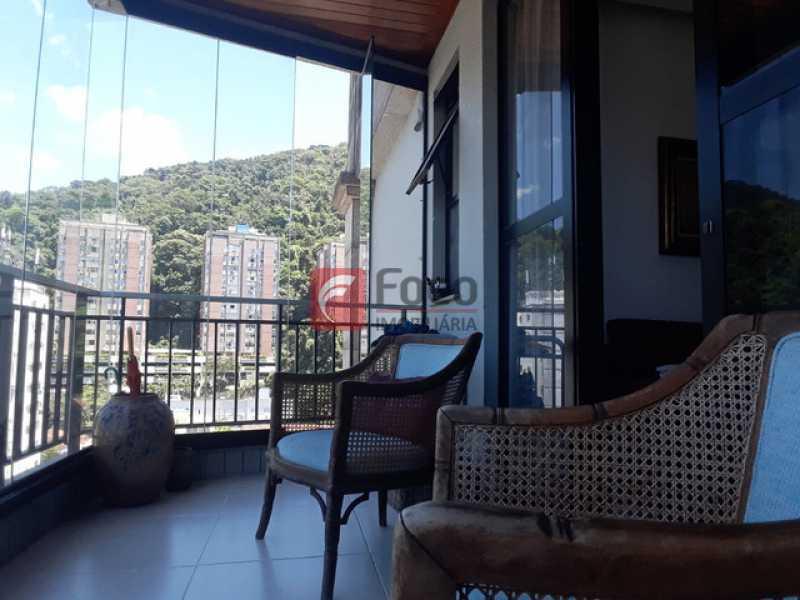 3 - Cobertura à venda Rua Marquês de São Vicente,Gávea, Rio de Janeiro - R$ 2.300.000 - JBCO30202 - 4