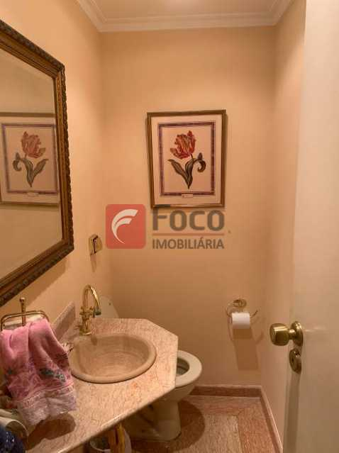 LAVABO - Apartamento à venda Rua Artur Araripe,Gávea, Rio de Janeiro - R$ 3.800.000 - JBAP40425 - 19