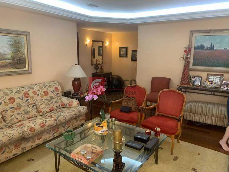 SALA - Apartamento à venda Rua Artur Araripe,Gávea, Rio de Janeiro - R$ 3.800.000 - JBAP40425 - 4