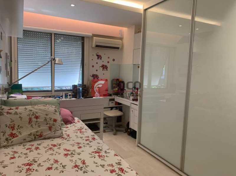 QUARTO - Apartamento à venda Rua Artur Araripe,Gávea, Rio de Janeiro - R$ 3.800.000 - JBAP40425 - 15