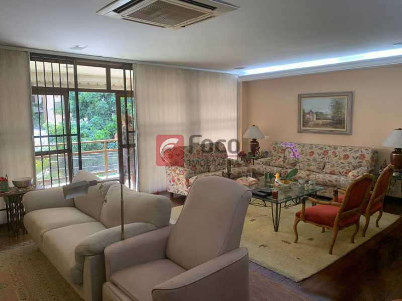 SALA - Apartamento à venda Rua Artur Araripe,Gávea, Rio de Janeiro - R$ 3.800.000 - JBAP40425 - 1